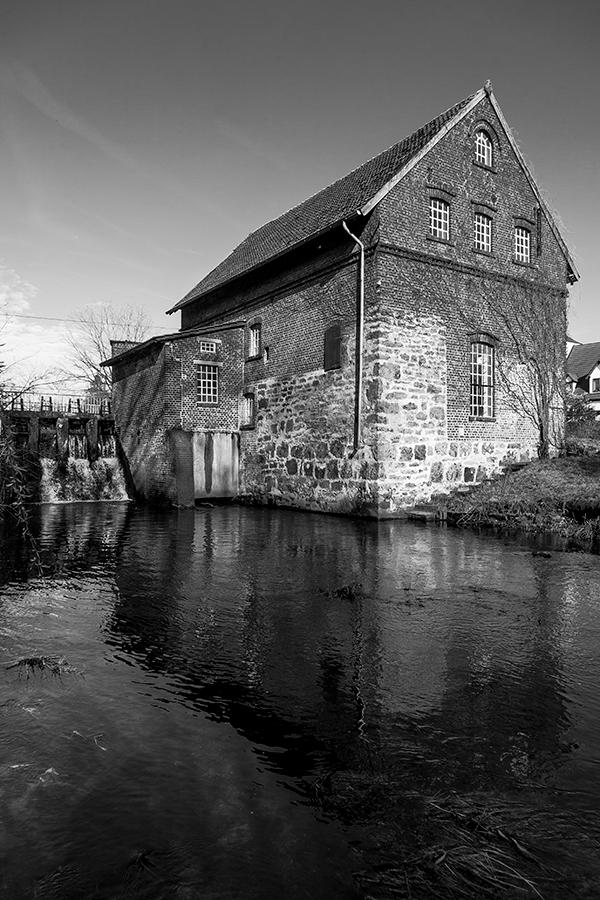 Tüshaus Mühle, Lightroom, schwarzweiß 04