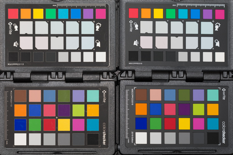 ColorChecker Passport Foto 2 Kontrolle