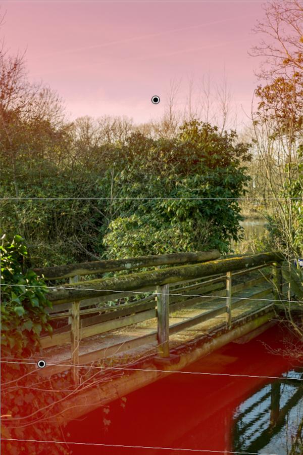 Entwicklungswege in Lightroom, alte Brücke, Tüshaus Mühle 06