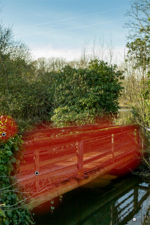 Entwicklungswege in Lightroom, alte Brücke, Tüshaus Mühle 07