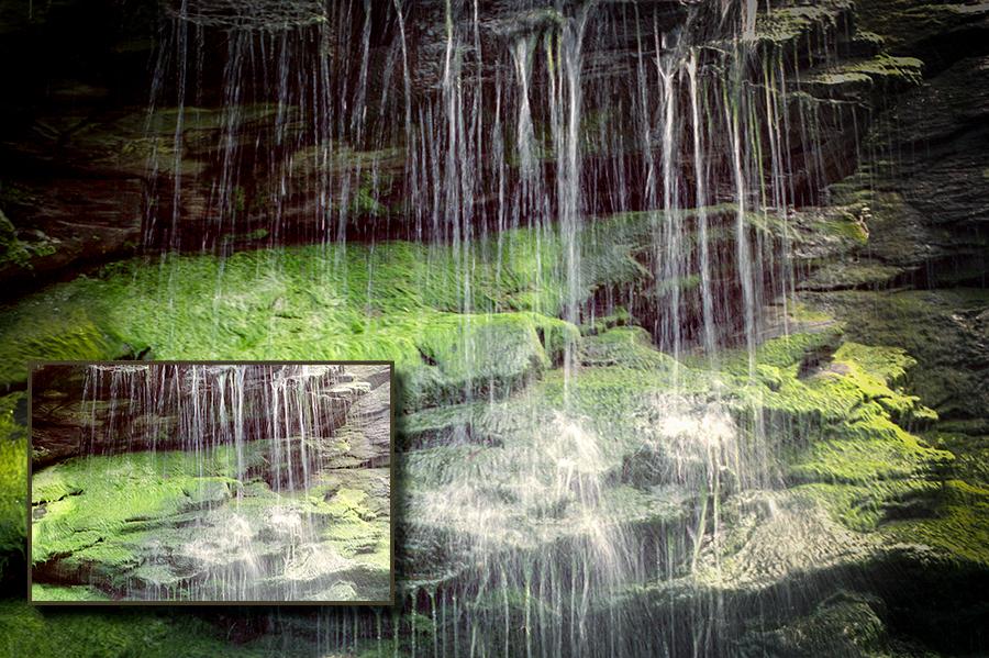 Entwicklungswege, Lightroom, Wasserfall, Tintagel 01