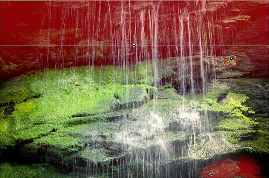 Entwicklungswege, Lightroom, Wasserfall, Tintagel 08
