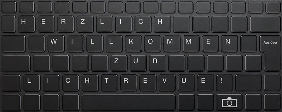 Text auf Tastatur in Photoshop 01