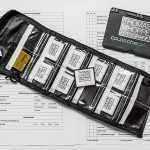 Packliste, CF-Karten, ColorChecker, Beschriftung