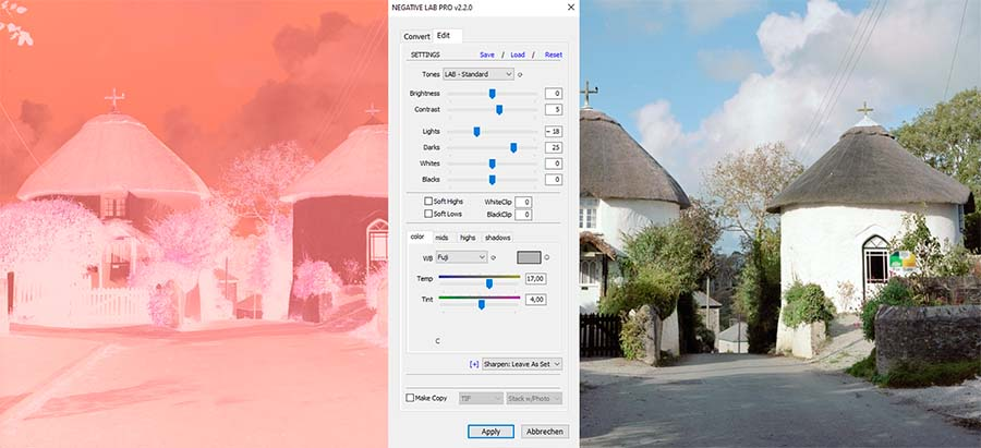 Negative mit der Kamera digitalisieren, Kamerascan, Negative Lab Pro, 01