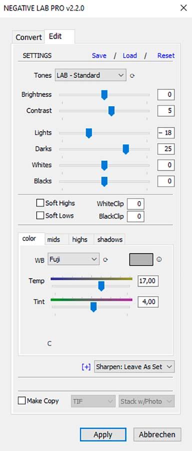 Negative mit der Kamera digitalisieren, Kamerascan, Negative Lab Pro, 05